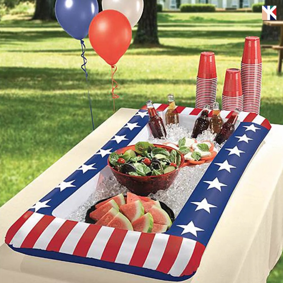 Target Inflatable Buffet Cooler Fourth of July Accessories