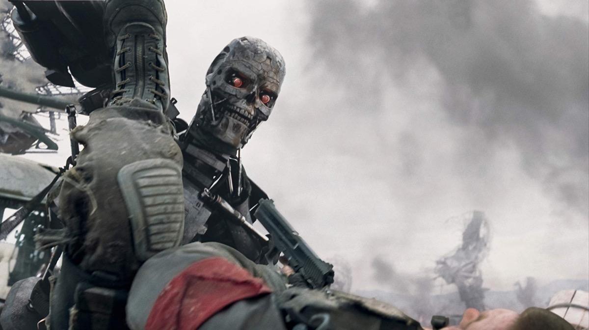 movie still from terminator salvation, memorial day movies
