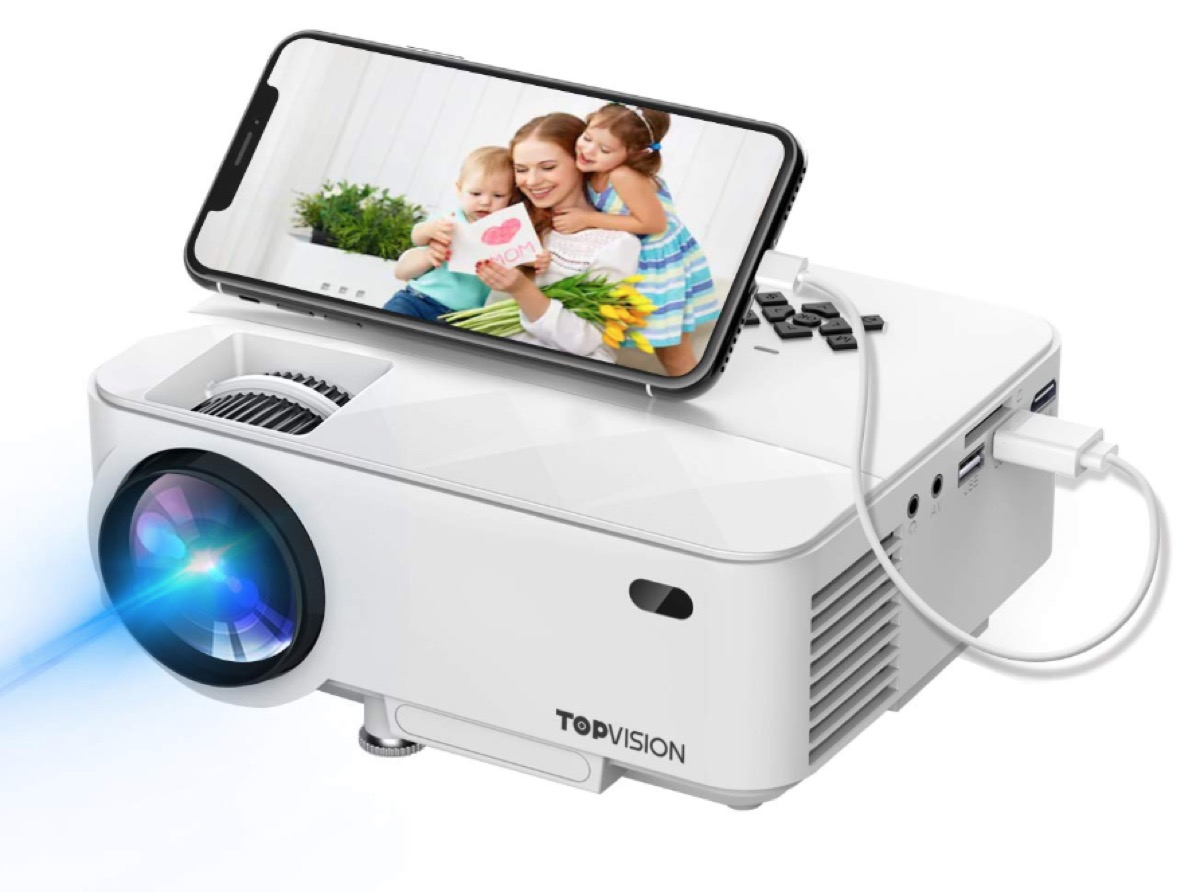 mini projector by topvision