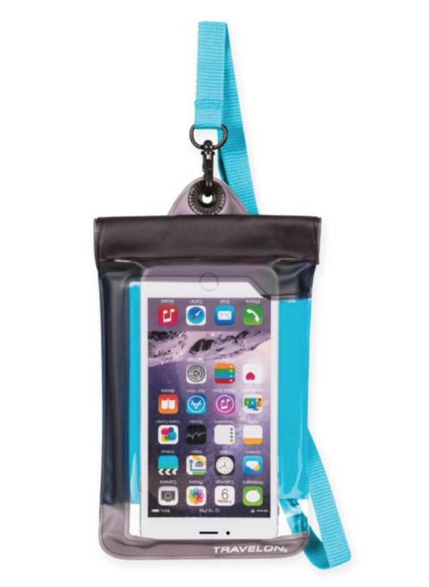 travelon waterproof phone case