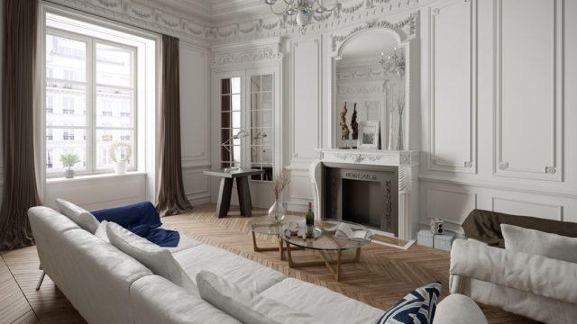 minimalist victorian living room, vintage home upgrades
