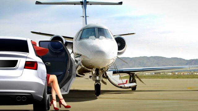 Woman Getting Ready to Board a Private Jet Most Expensive Things on the Planet