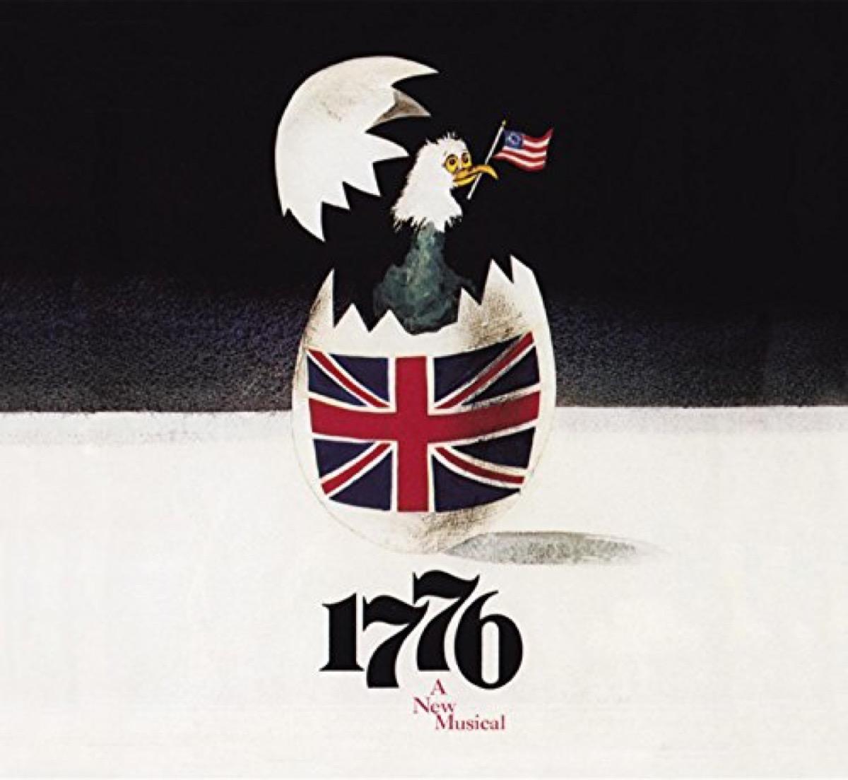 1776 original broadway cast recording