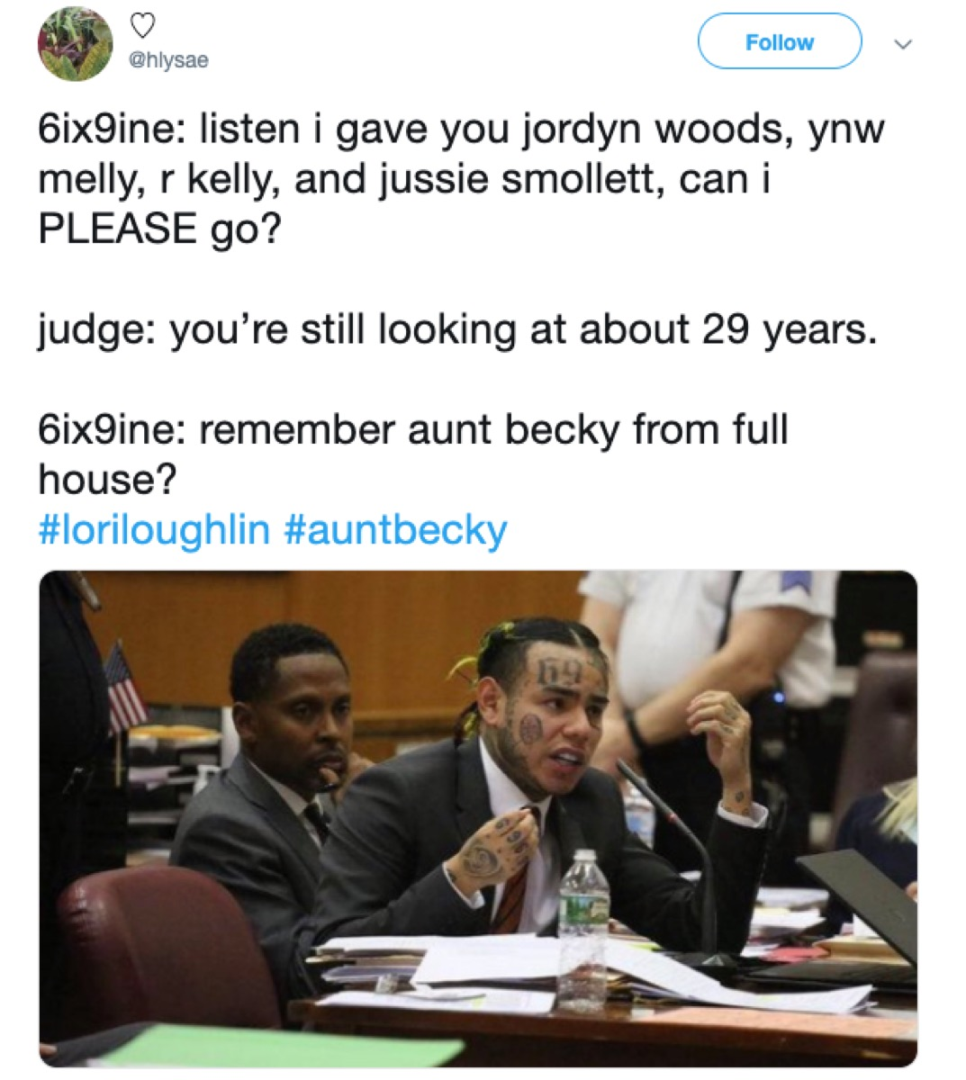 6ix9ine snitching, 2019 memes