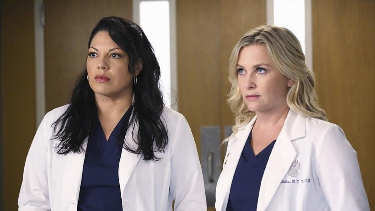 Callie and Arizona, lesbian doctors on Grey's Anatomy, are one of the 50 most beloved TV couples