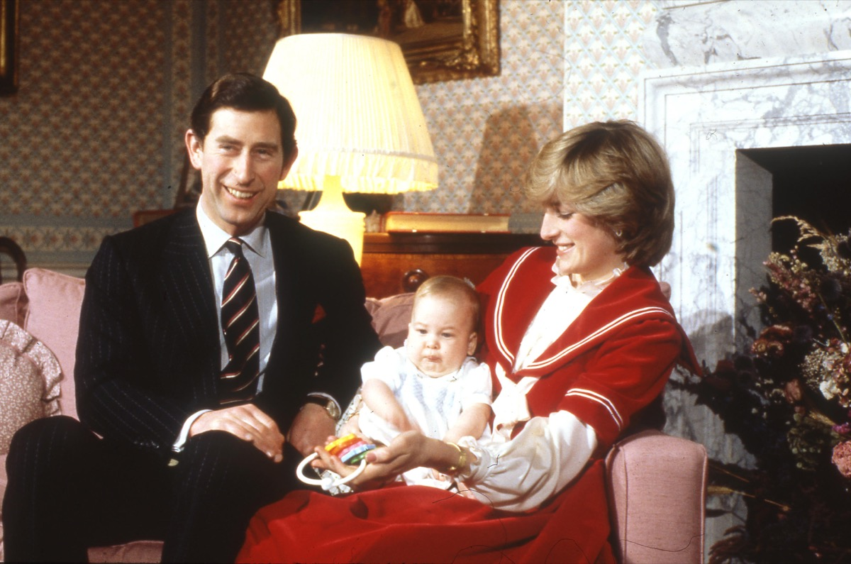 PRINCE CHARLES and Diana, Princess of Wales, with their first child Prince William, at kenington Palace, London, in December 1982, surprising prince william facts