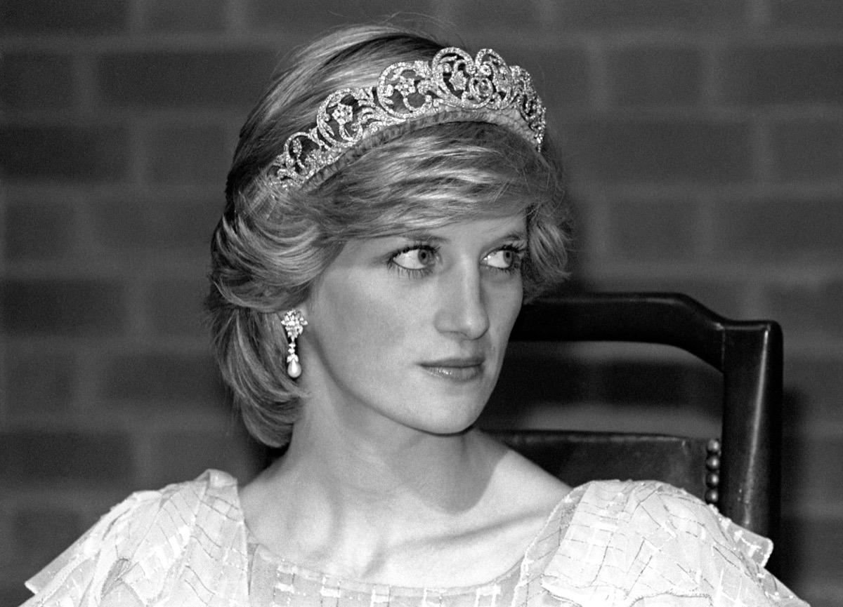 Princess Diana wearing Spencer Tiara 1983, secrets about princess diana
