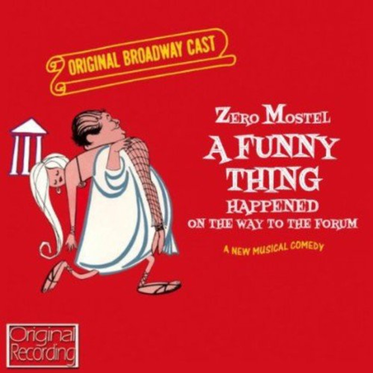 a funny thing forum cast recording