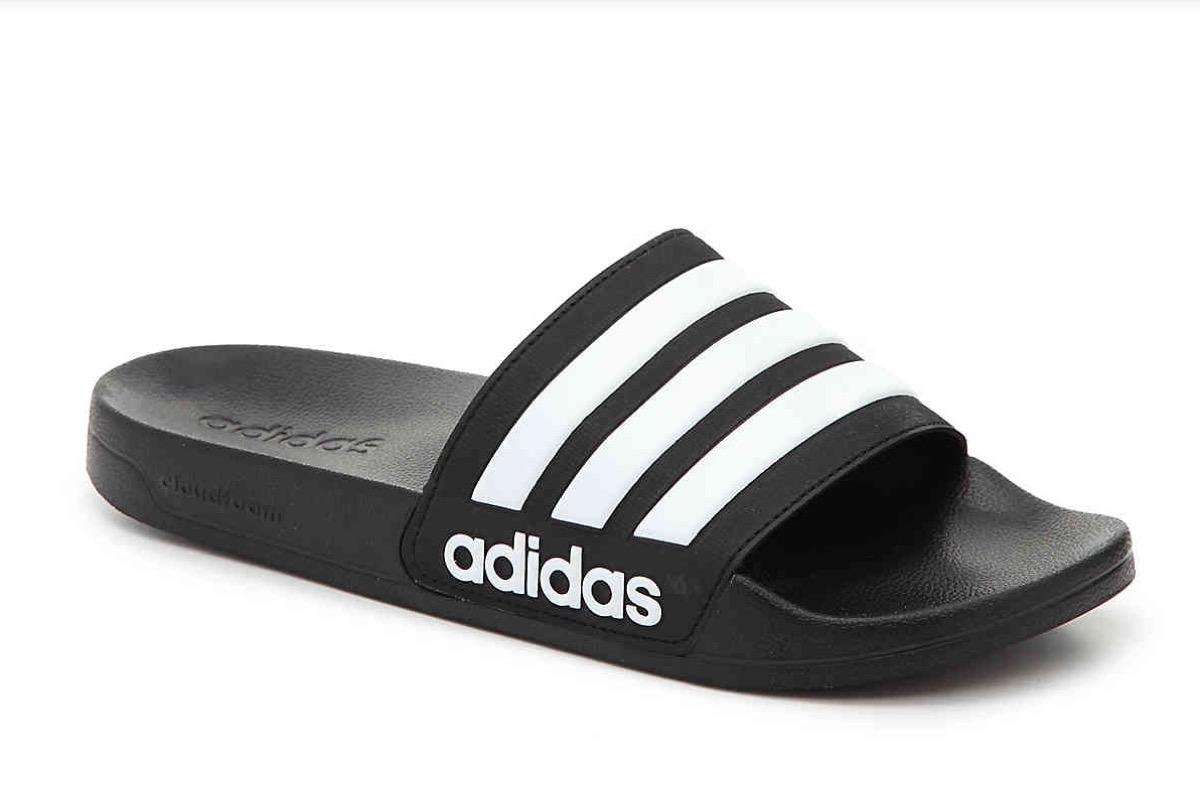 black adidas slip on sandals, affordable sandals