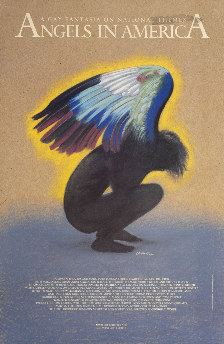 angels in america broadway poster, broadway tickets