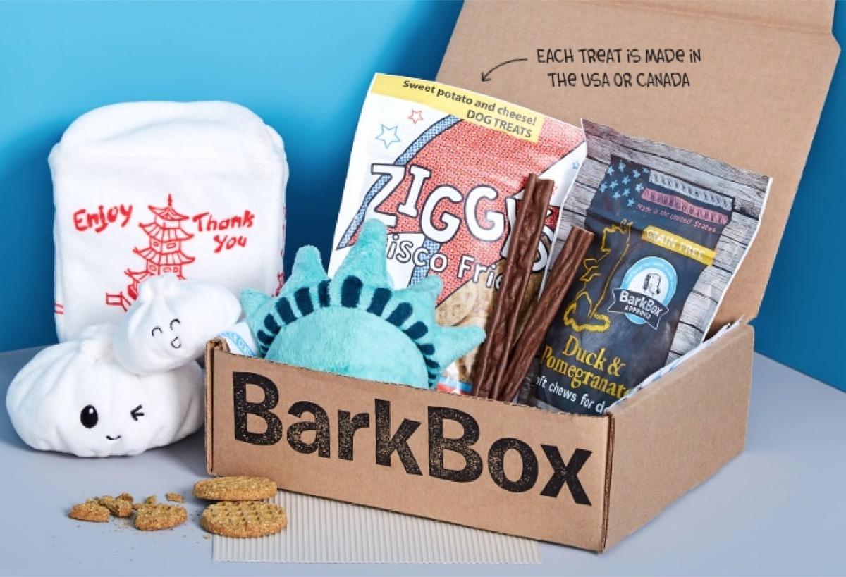 barkbox subscription box, subscription boxes