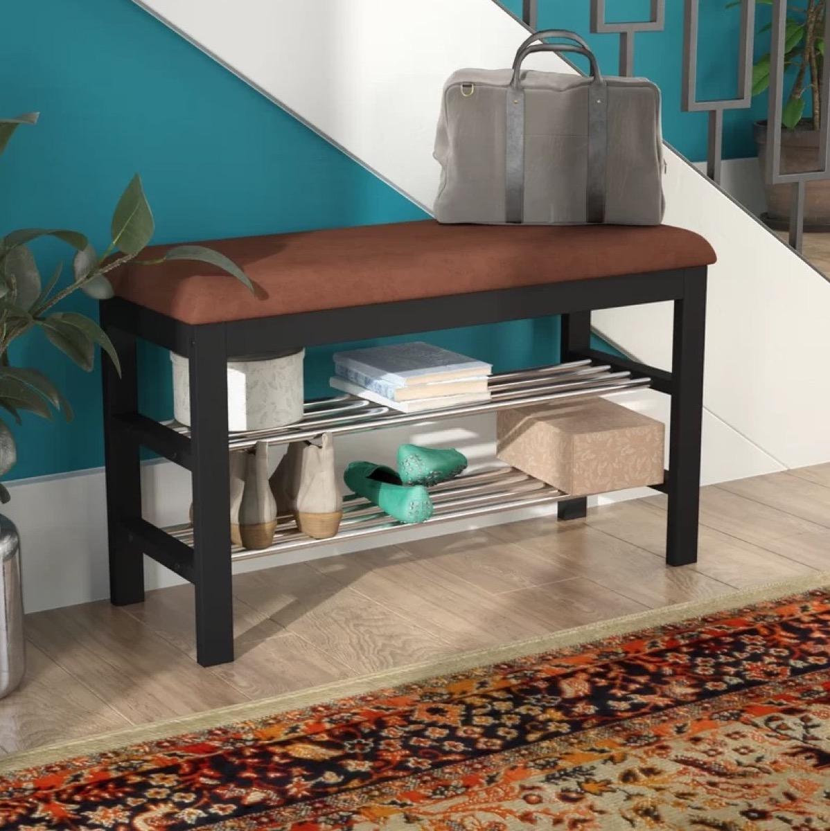 Wayfair Bench with Shoe Storage Storage Furniture