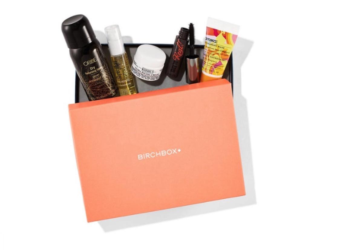 birchbox beauty subscription box, subscription boxes