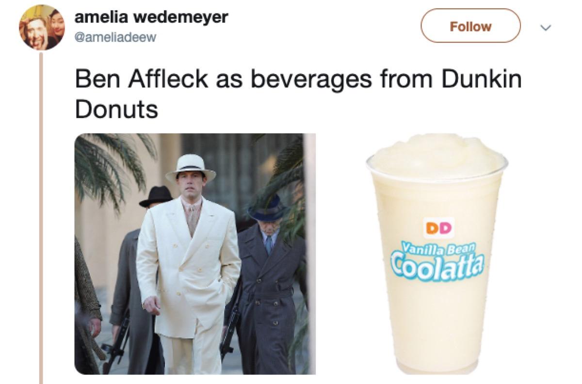 celebrities as things meme, 2019 memes