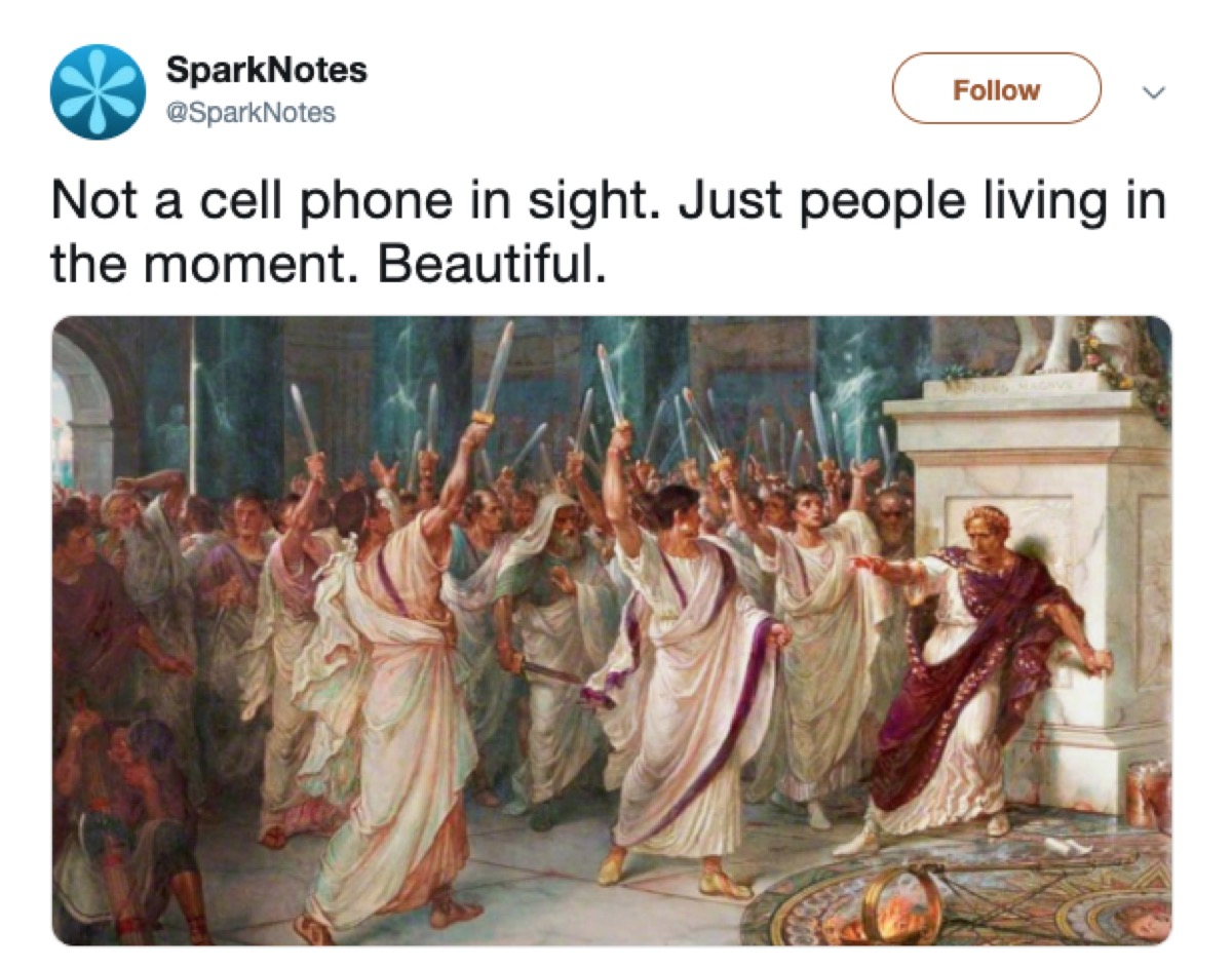 not a cell phone in sight meme, 2019 memes