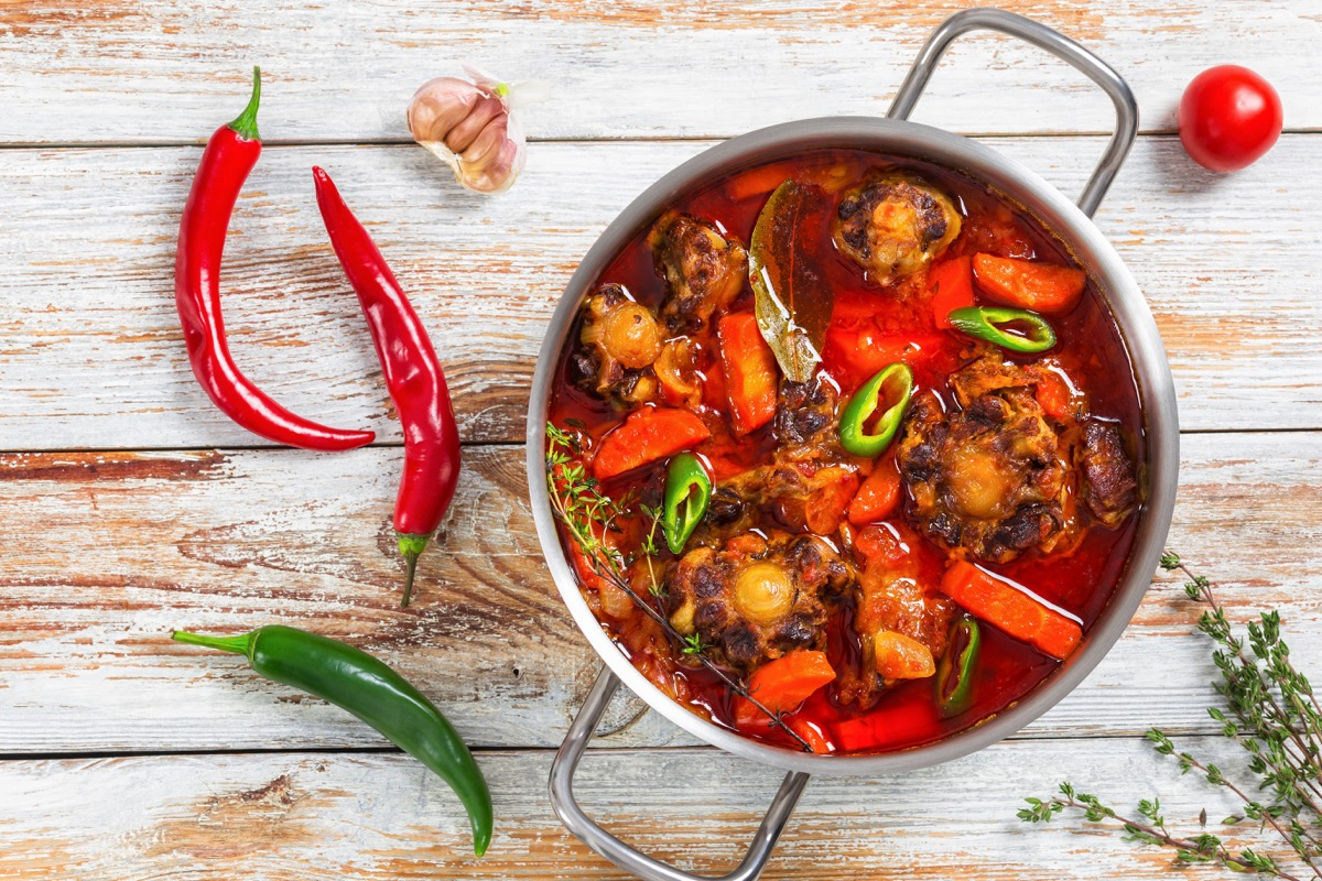 Food with Chili Peppers Lower Blood Pressure Naturally