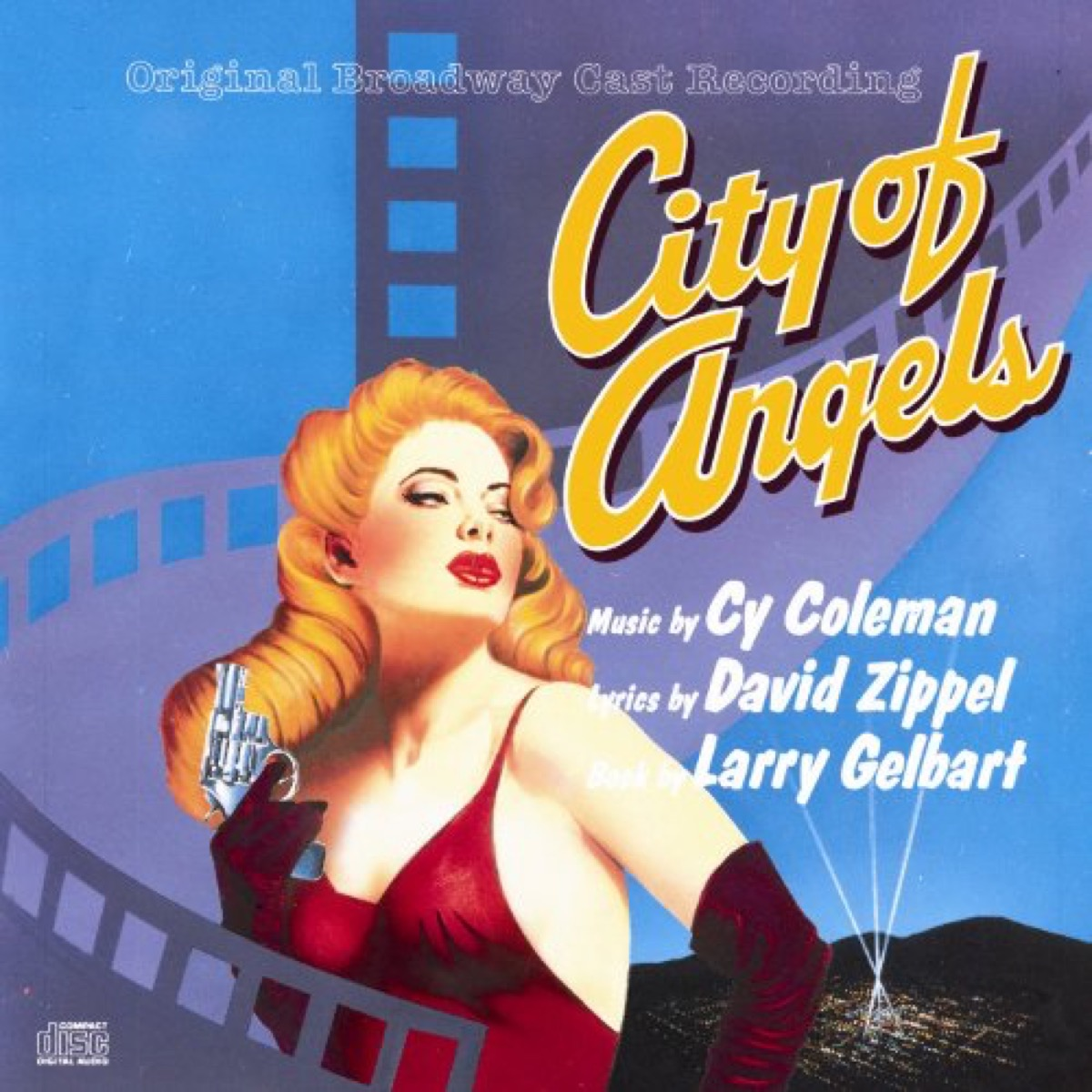 city of angels broadway cast recording, broadway tickets