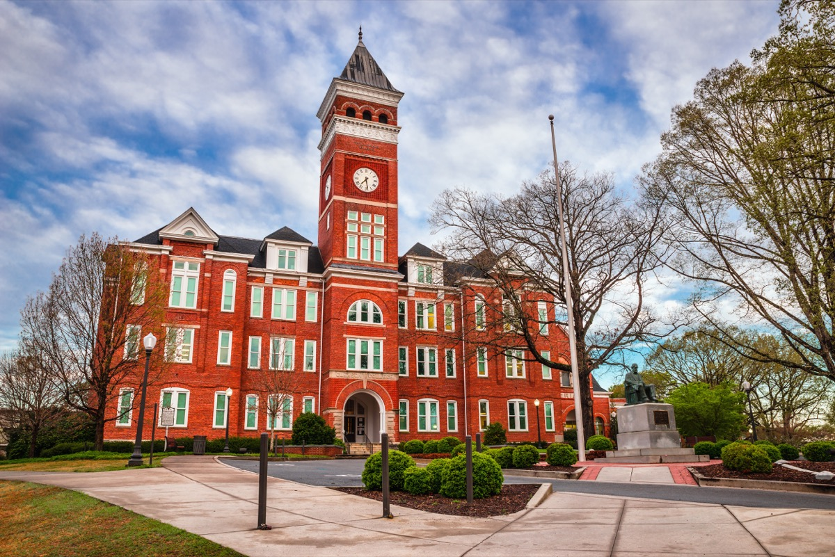 clemson south carolina best and worst places in the U.S. to be LGBTQ