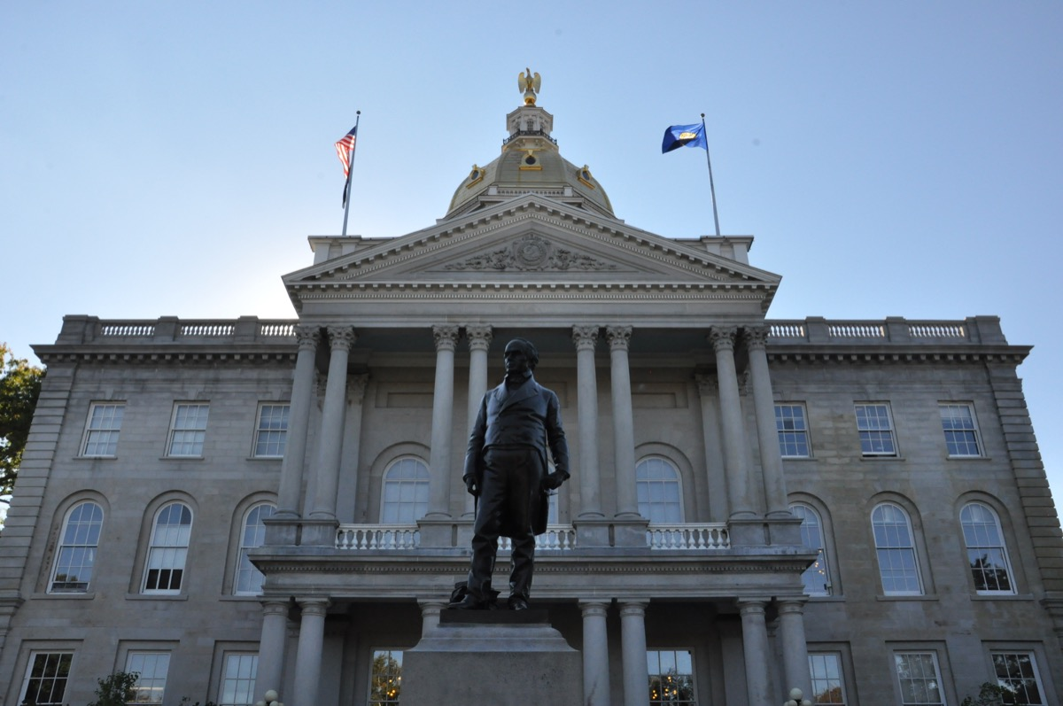 daniel webster statue new hampshire famous state statues
