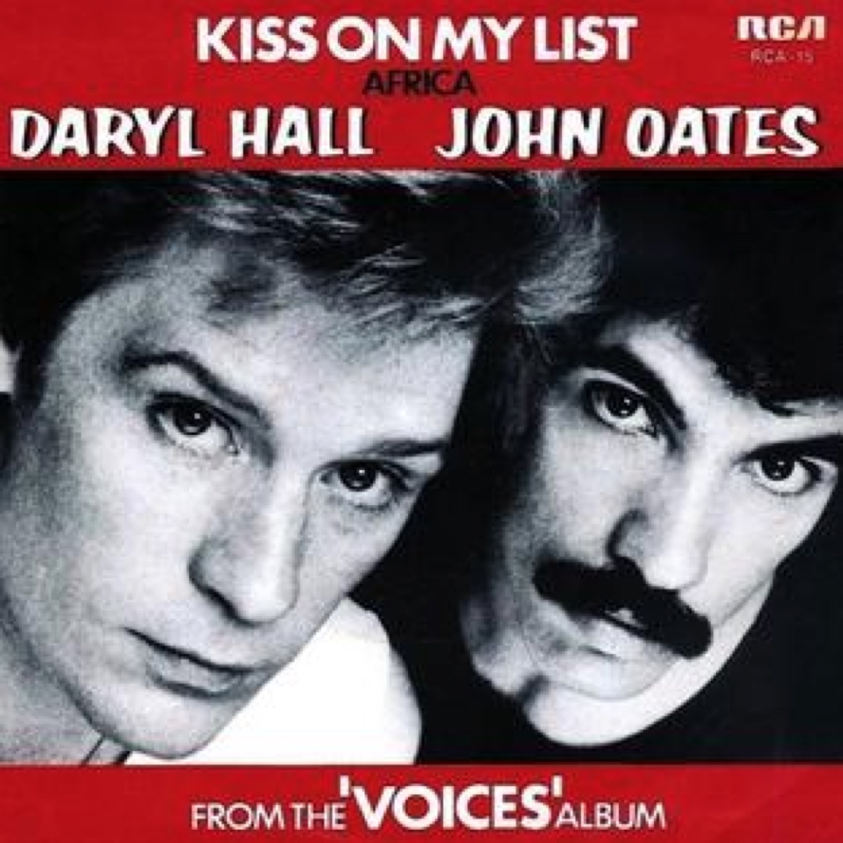 """kiss on my list"" song"