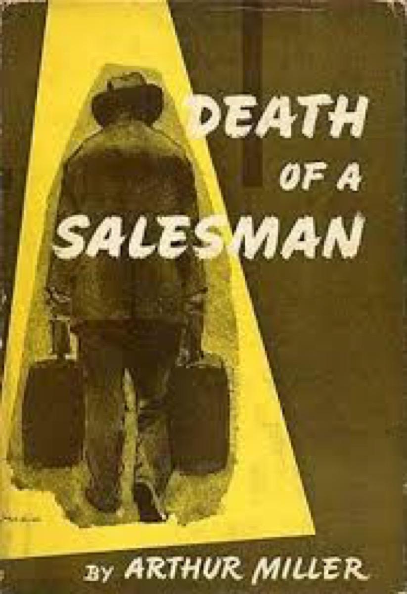 death of a salesman book by arthur miller