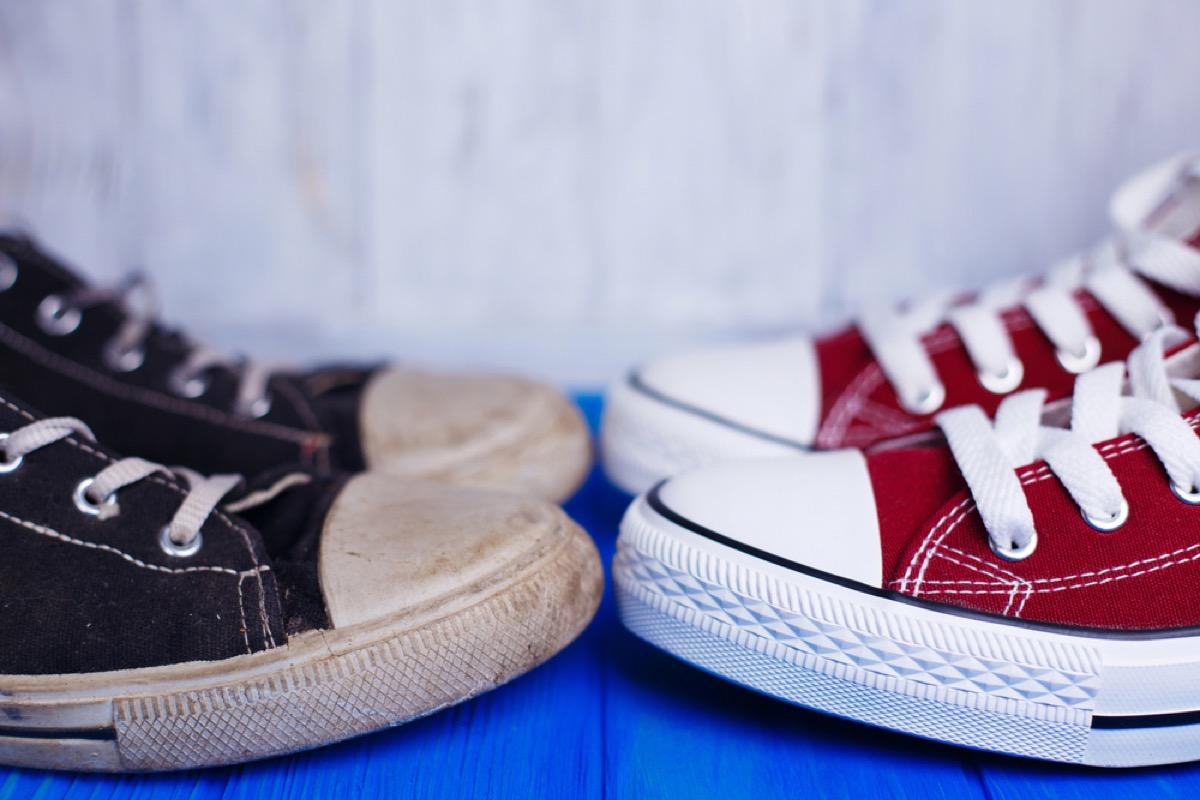 Chuck Taylor tennis shoes