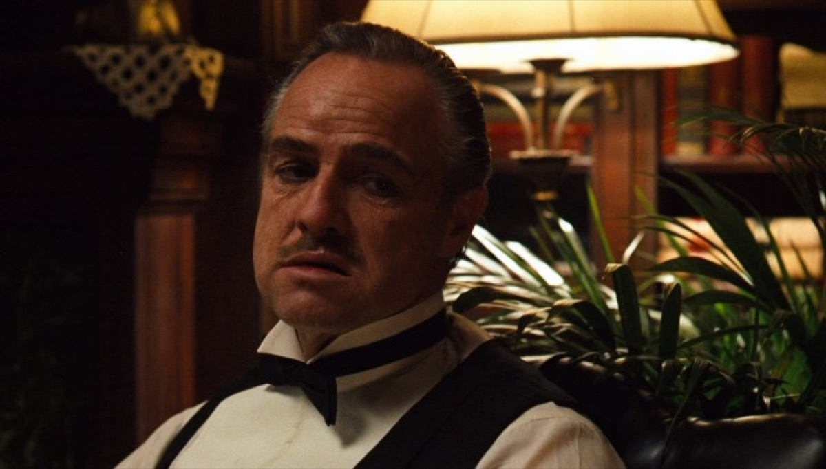 marlon brando as don corleone in the godfather, father quotes