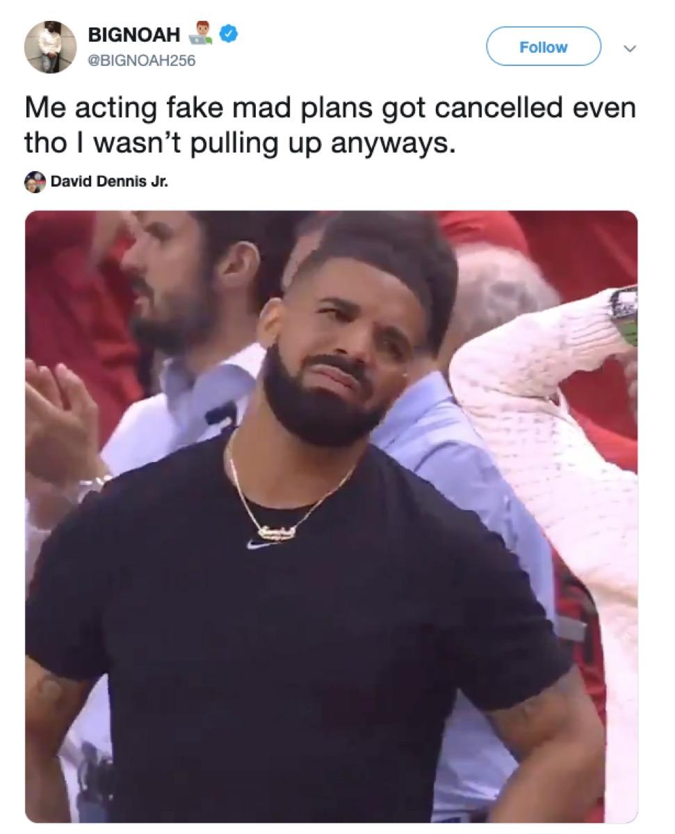 drake courtside meltdown meme, 2019 memes