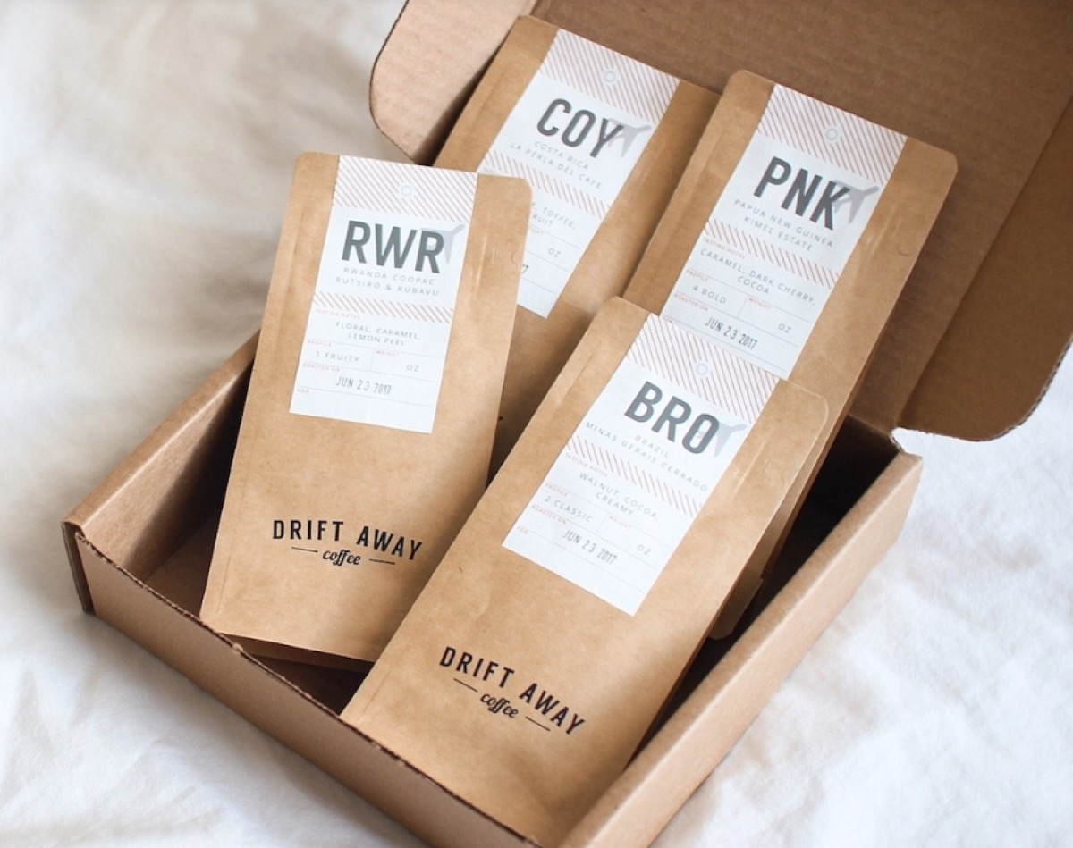 driftaway coffee subscription, subscription boxes