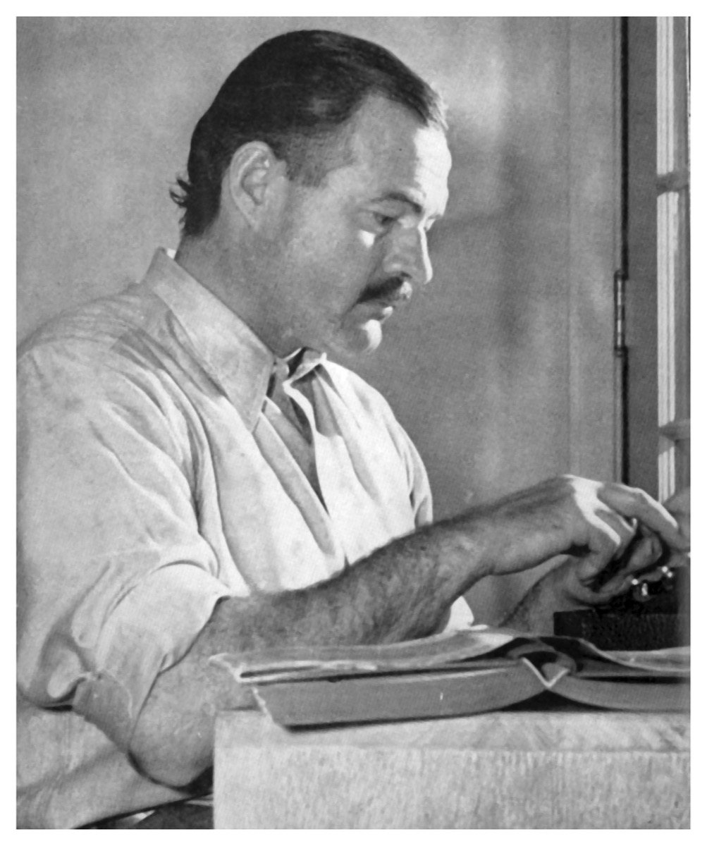 ernest hemingway photo, father quotes