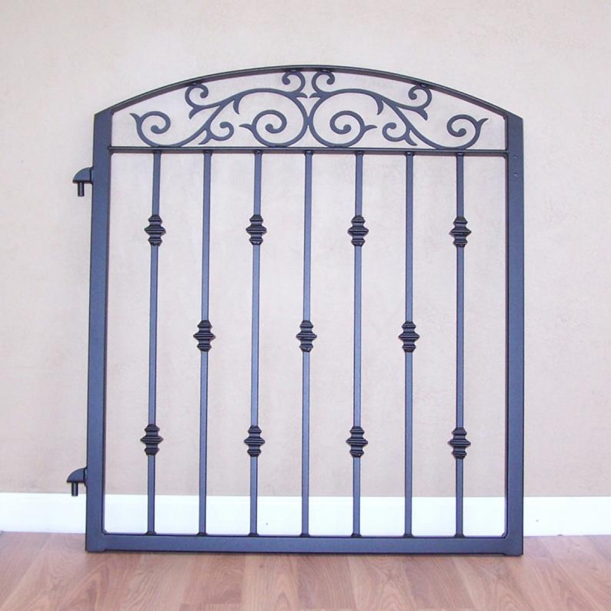 etsy wrought iron gate vintage home features