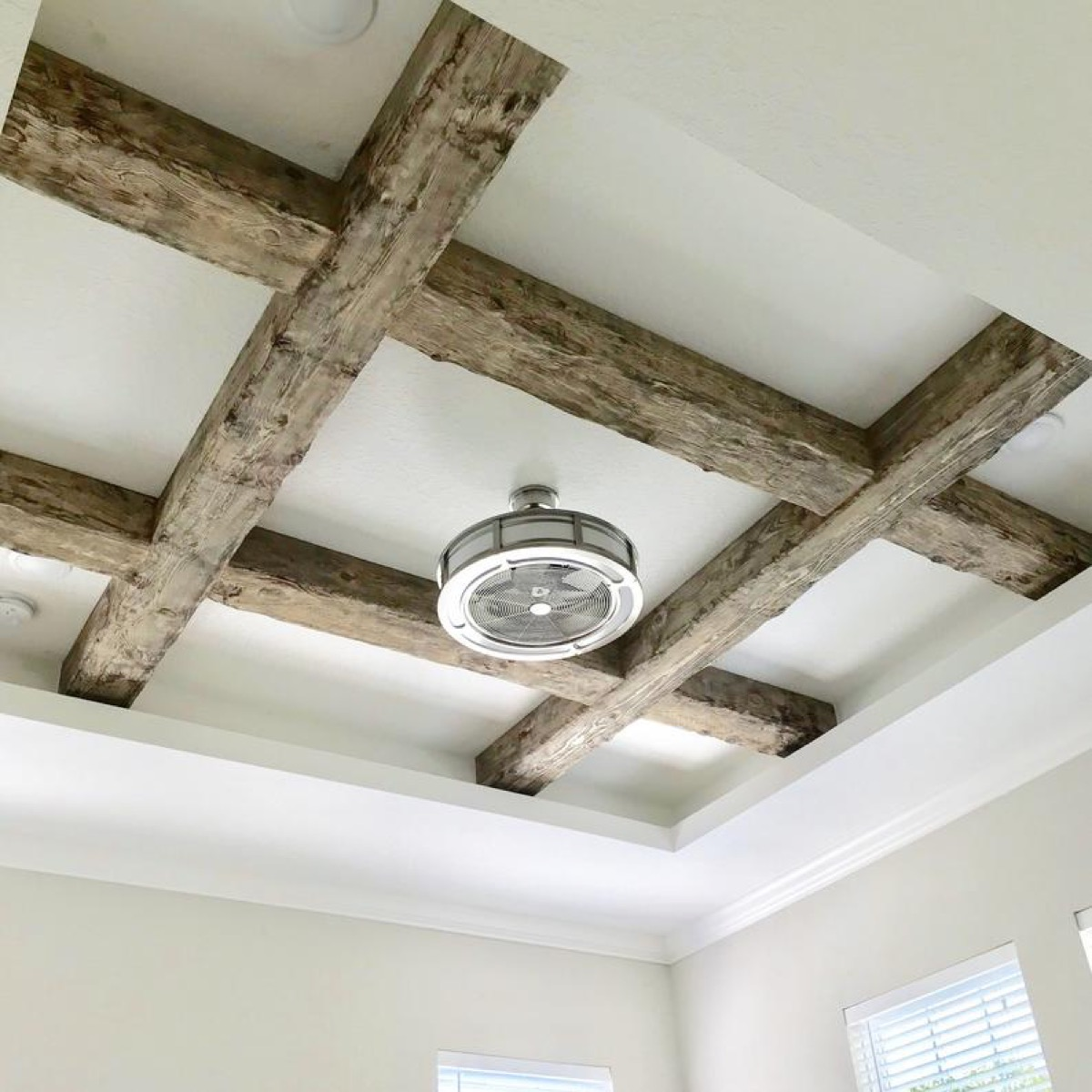 exposed wooden beams on ceiling vintage home features