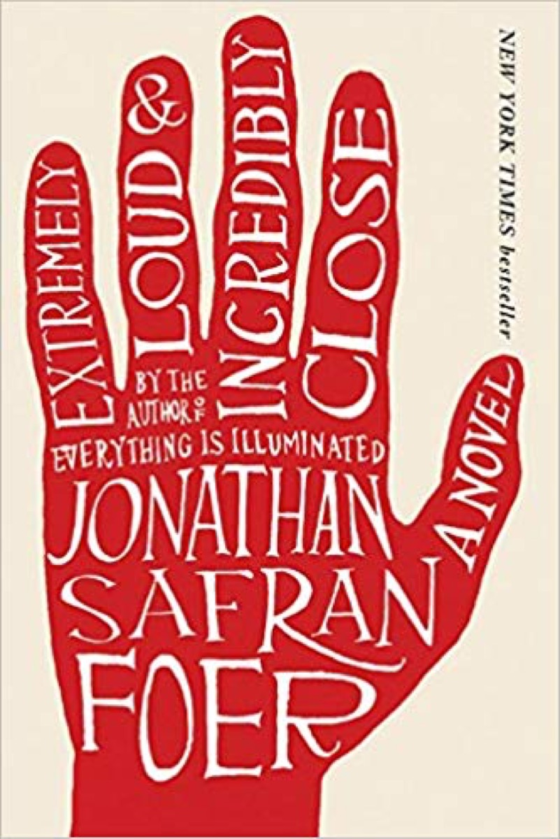 extremely loud and incredibly close book cover, father quotes