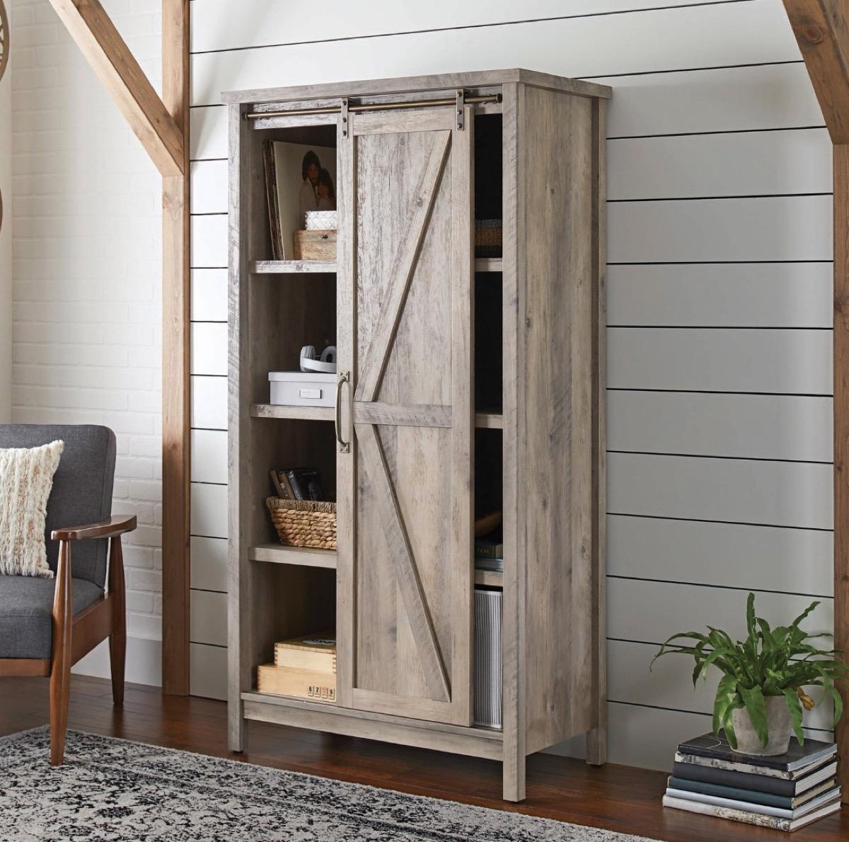 Walmart Farmhouse Bookshelf Storage Furniture