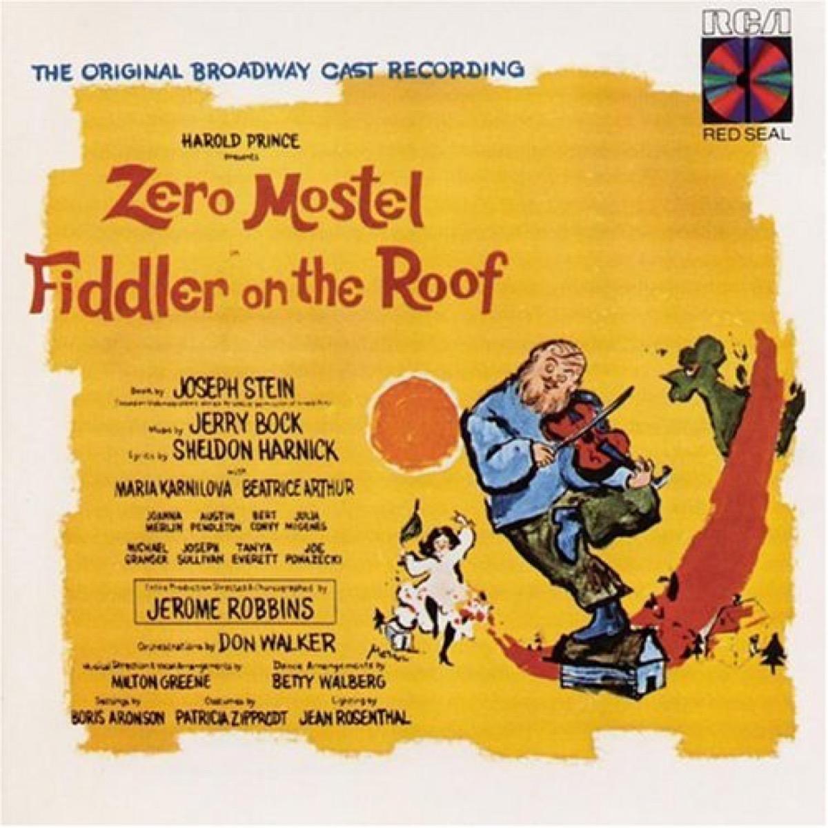 fiddler on the roof original cast recording