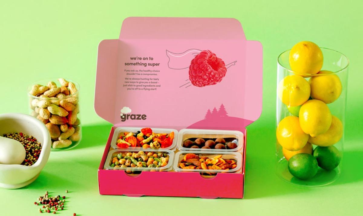 graze snack subscription box