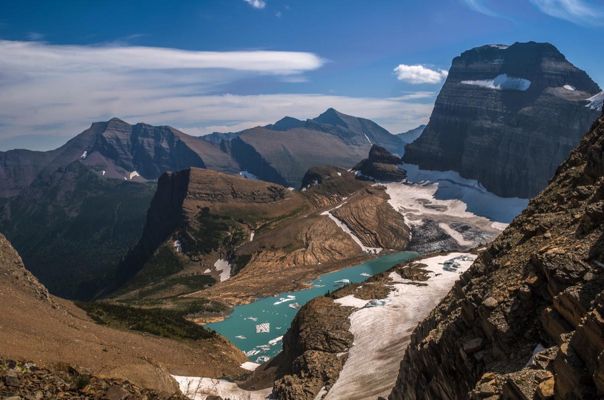 grinnel glacier glacier national park montana state natural wonders