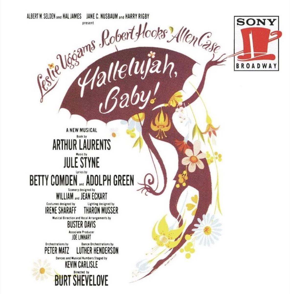 hallelujah baby recording, broadway tickets