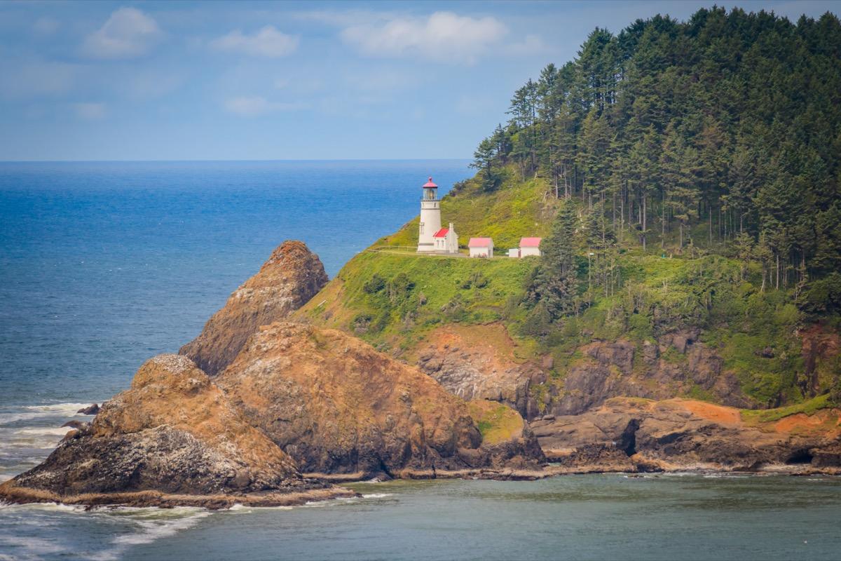 Heceta Lighthouse in Oregon