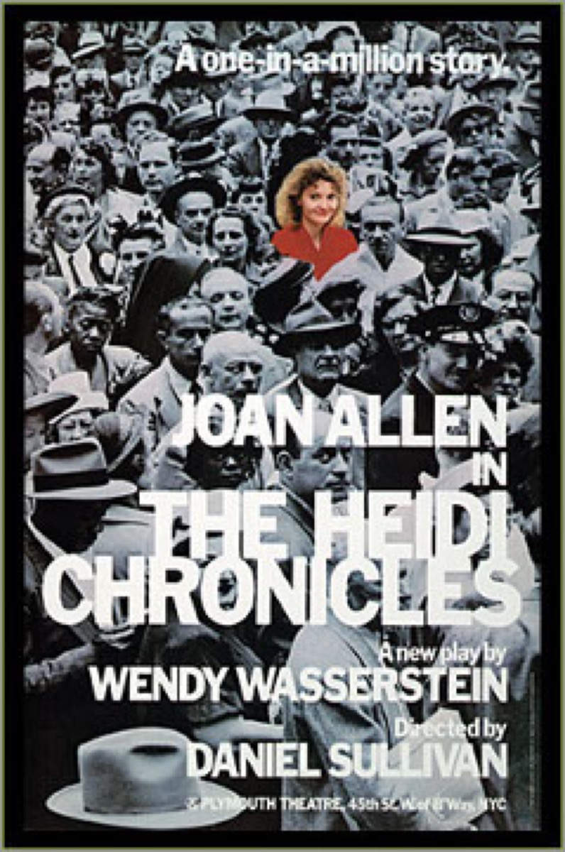 the heidi chronicles broadway poster