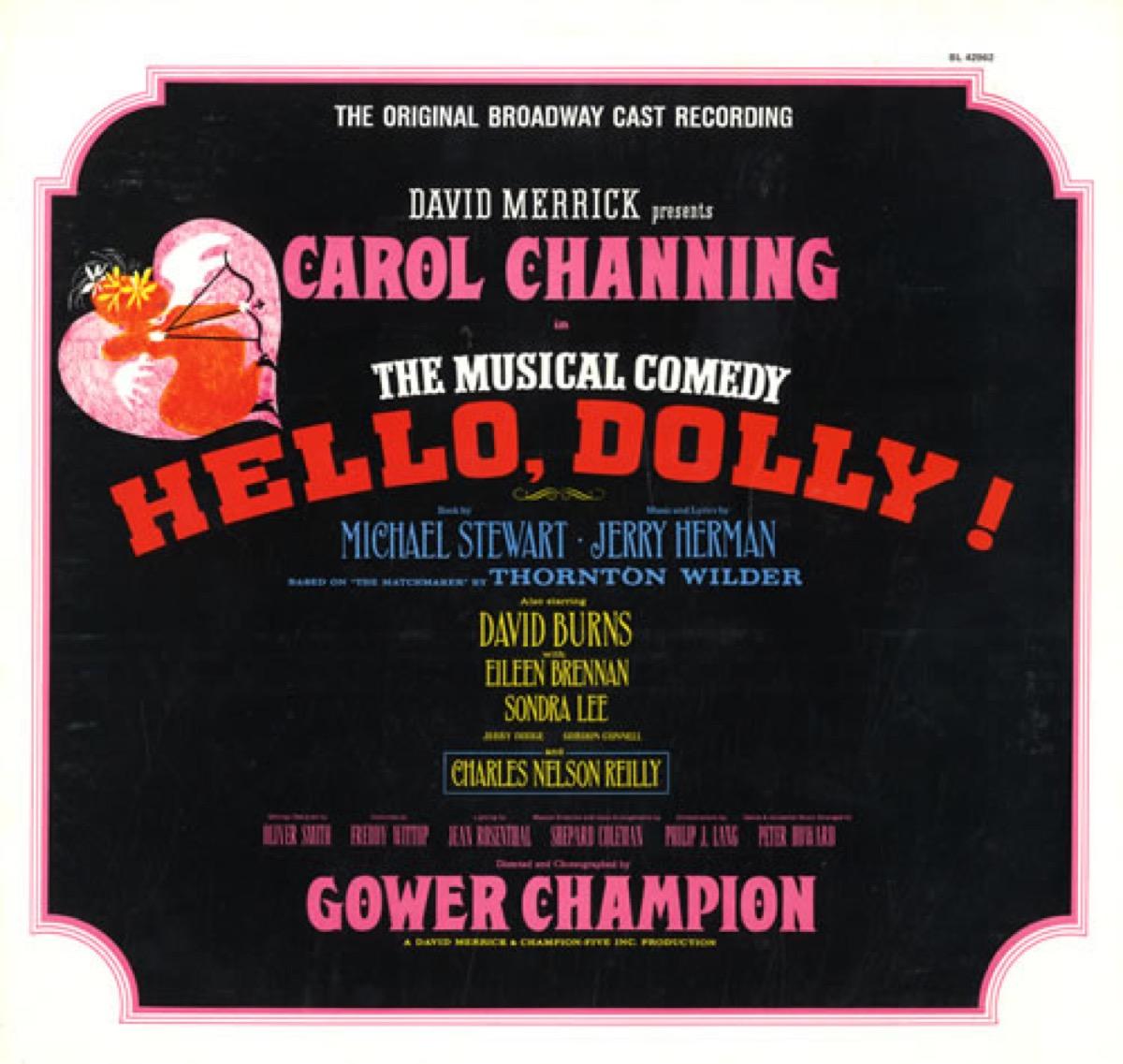 hello dolly original cast recording broadway
