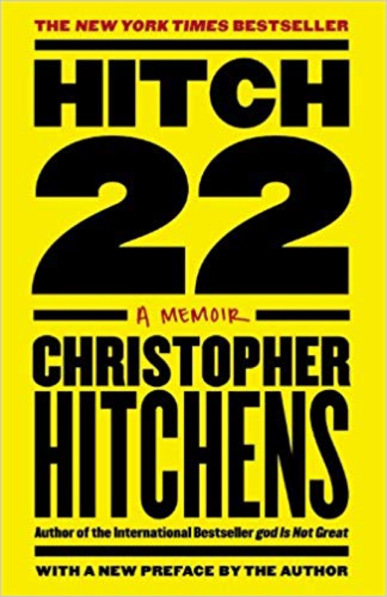 hitch, a memoir book cover, father quotes