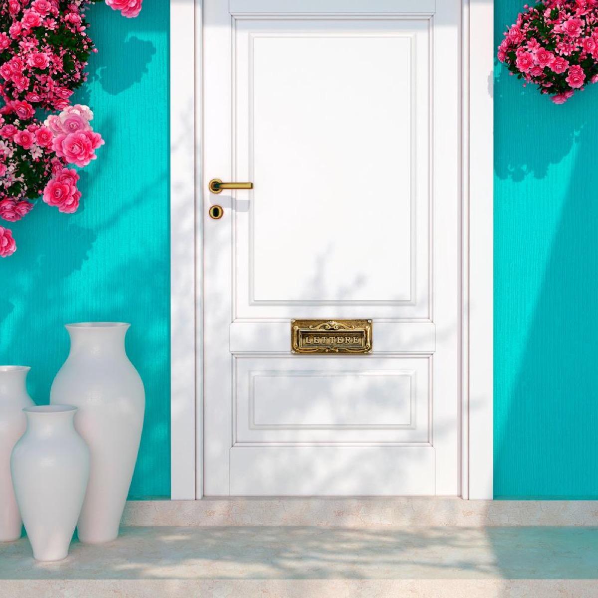 home depot door mail slot vintage home features