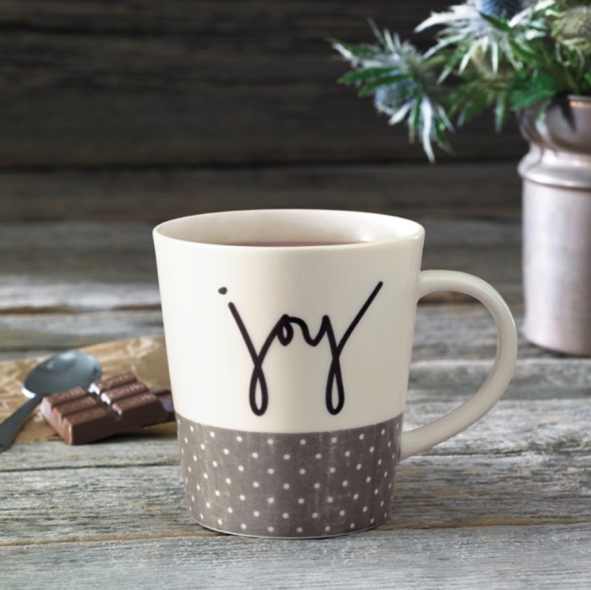 joy mug, ellen degeneres homeware, celebrity homeware