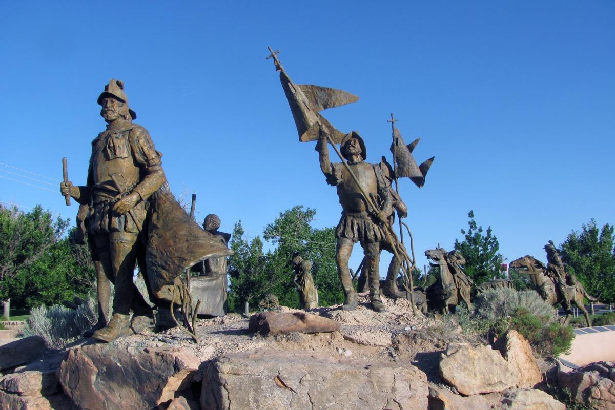 juan de onate statue new mexico famous state statues