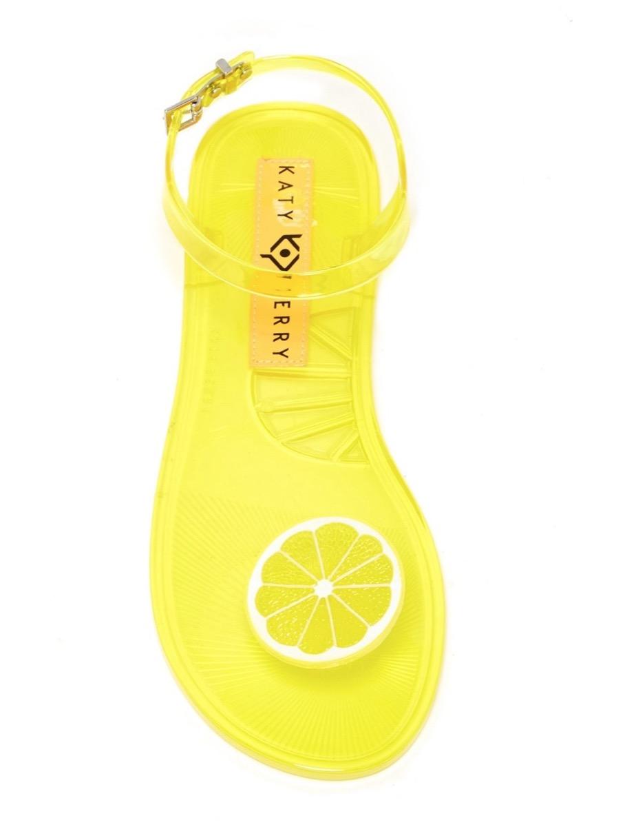 yellow lemon sandals, affordable sandals