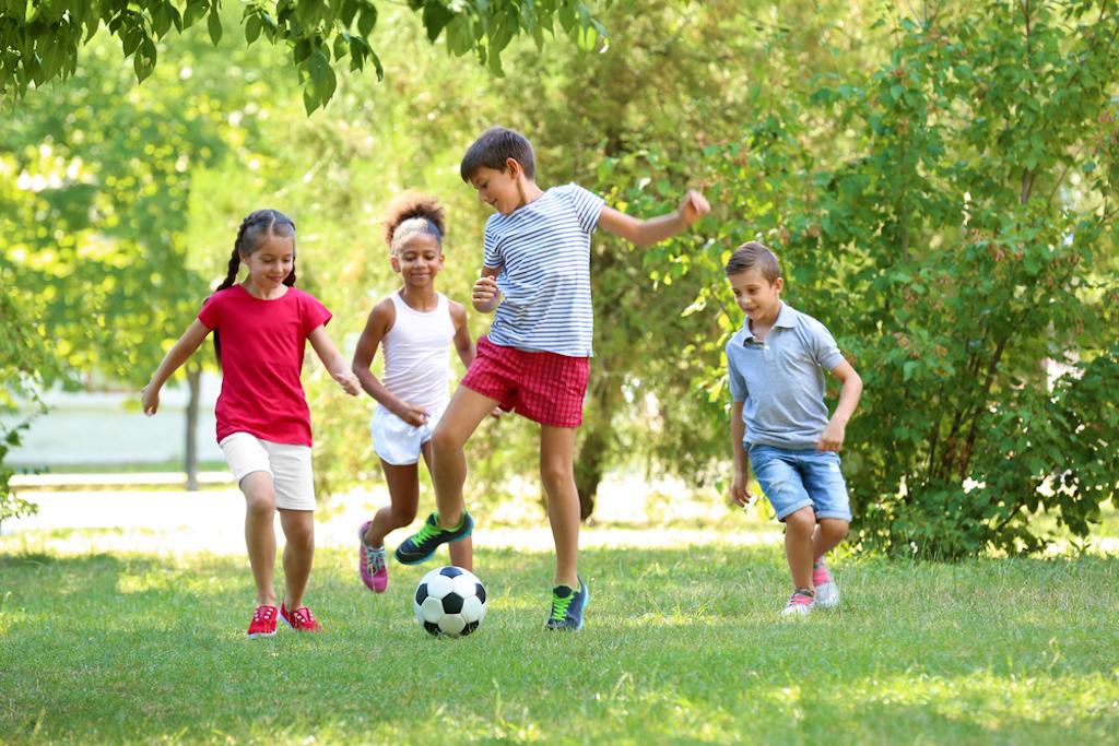 kids playing soccer, skills parents should teach kids