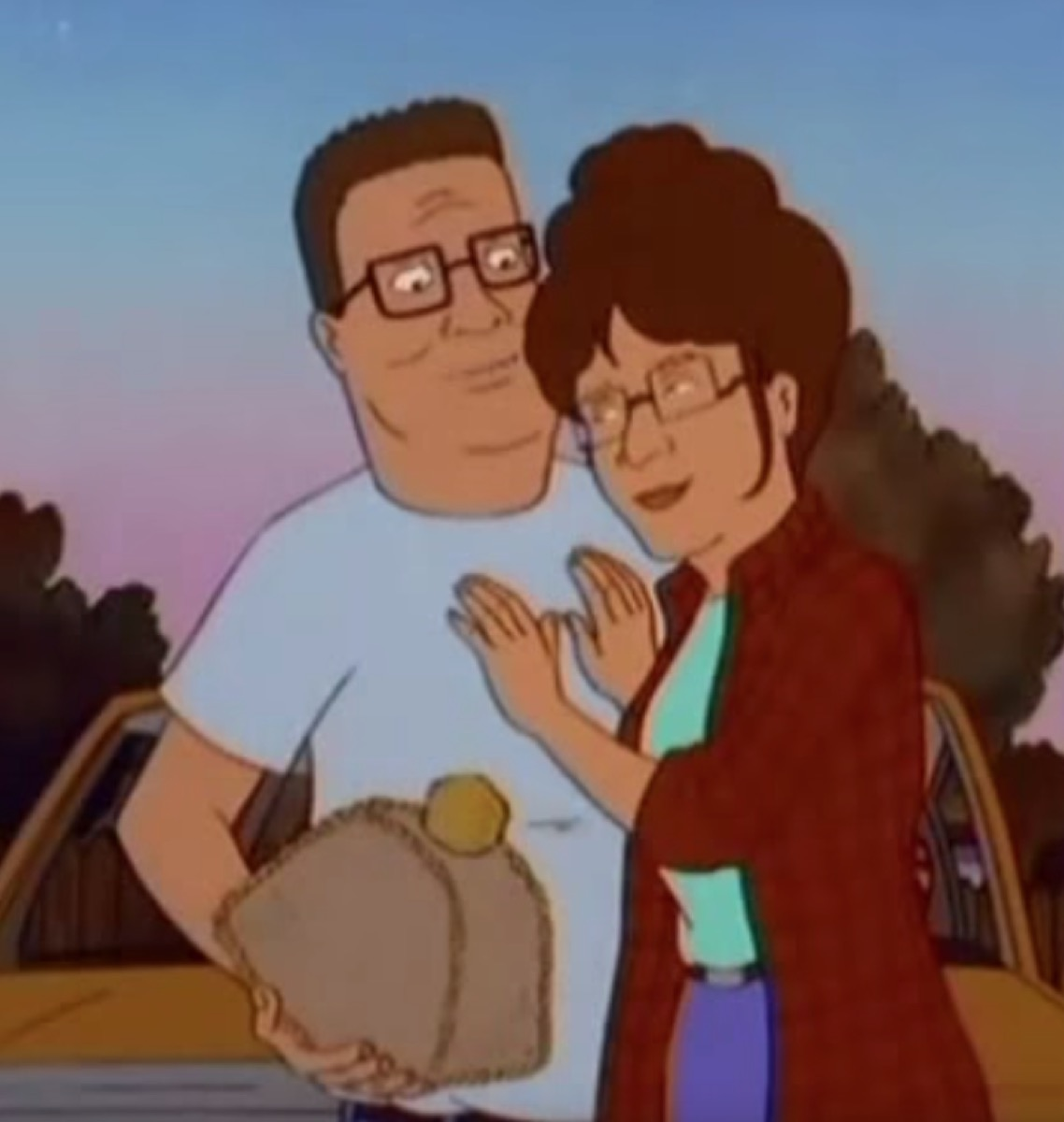 Hank and Peggy