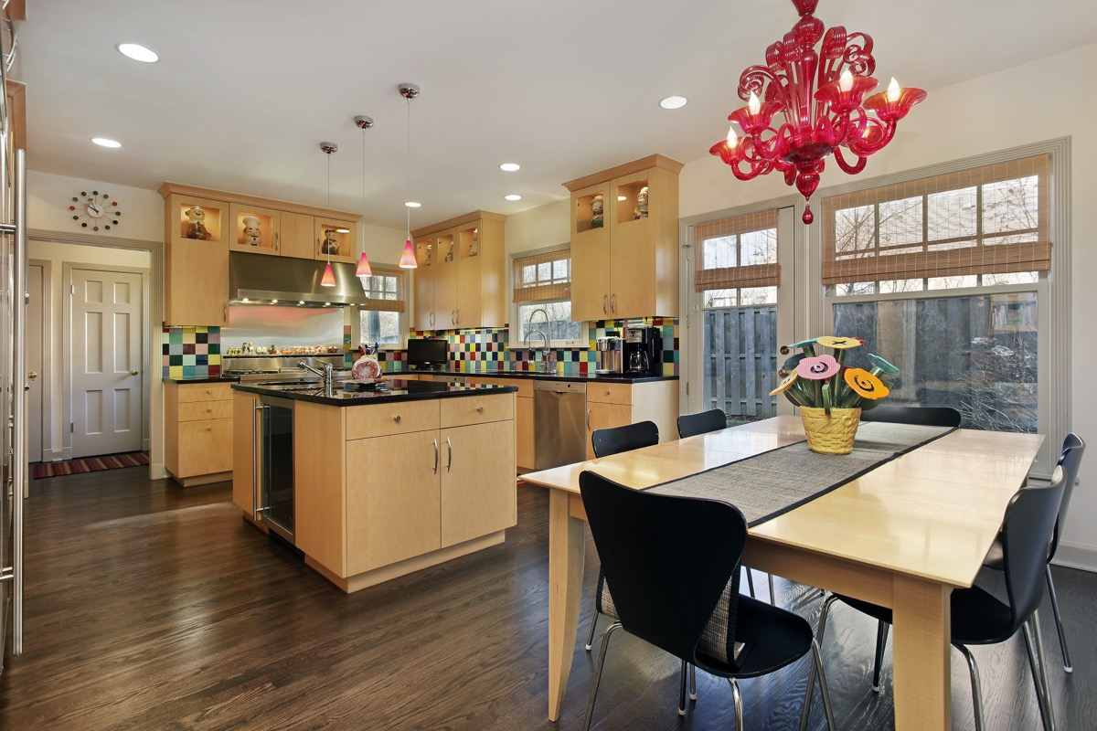 Statement Light Fixture in the Kitchen Home Improvement Projects