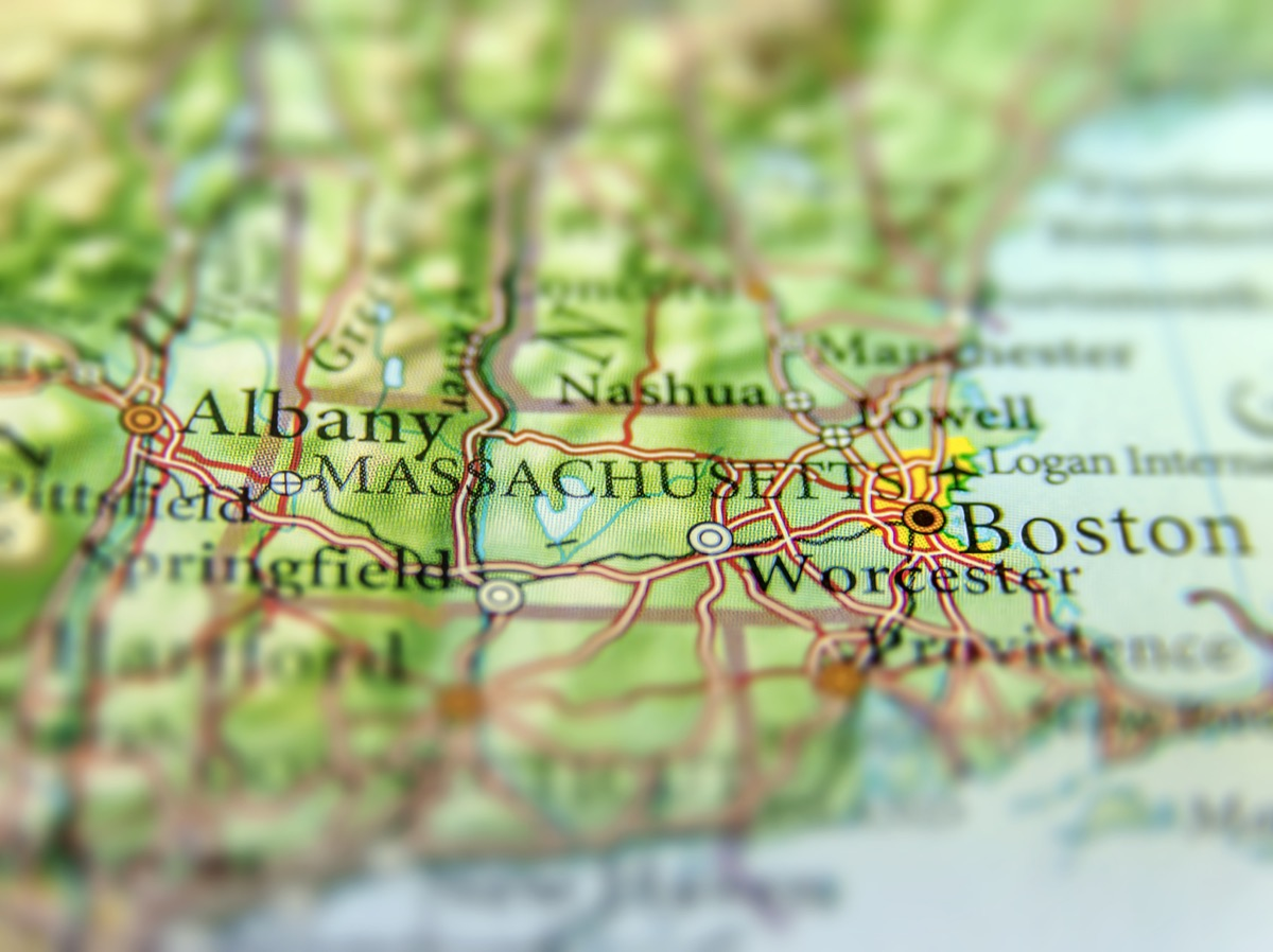 massachusetts geographical map state natural wonders